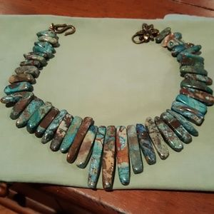 Jewelry - African Green turquoise necklace
